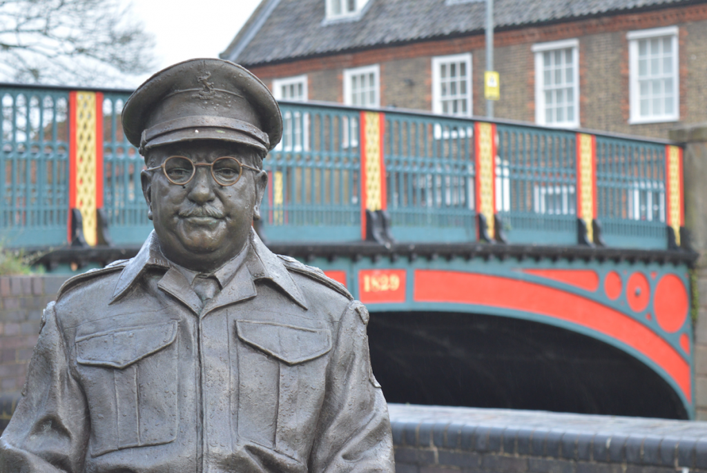 Captain Mainwaring in Thetford
