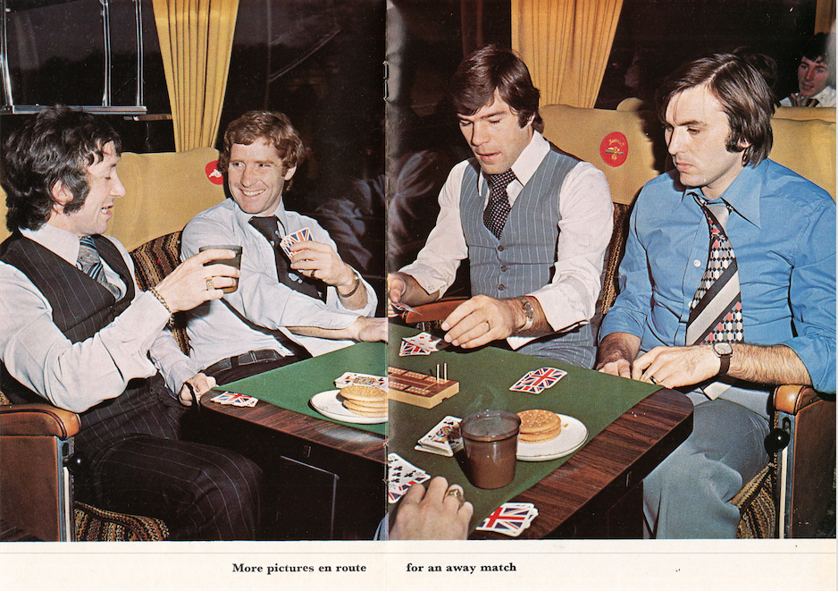 Arsenal Players Playing Cards