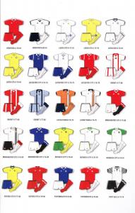 AdmIral Football Kits