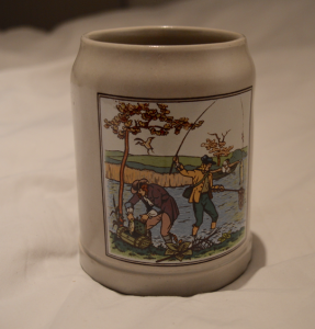Fishing Pint Pot €1