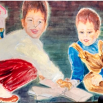 Flea Market Art. 2 Children