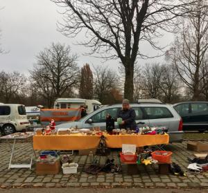 Flea Market Stall. Munich