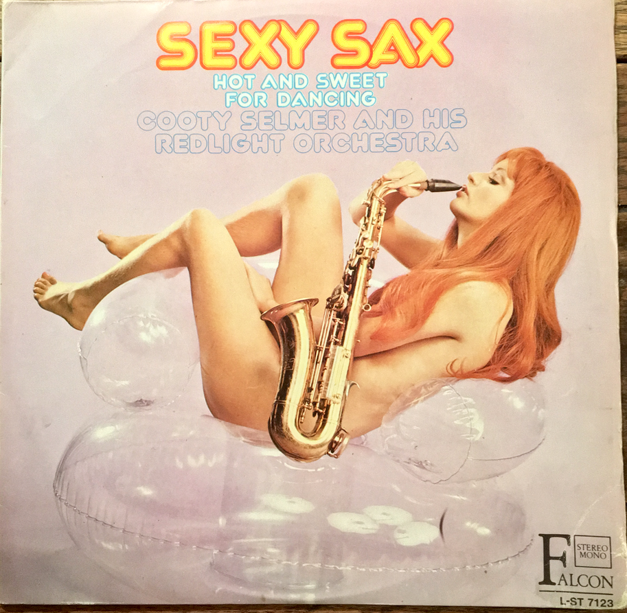Appalling Saxophone Music. Excellent Cover.