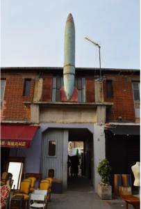 A Missile at a Fleamarket