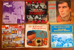 Assorted Singles incl. Les Beatles